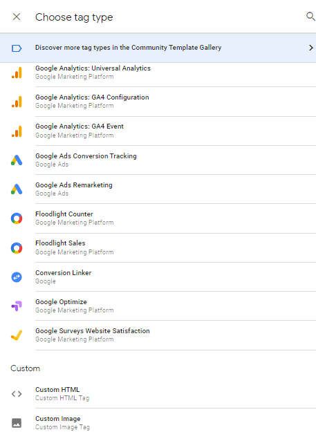 Google Tag Manager Different Tags Jagadeesh Chundru